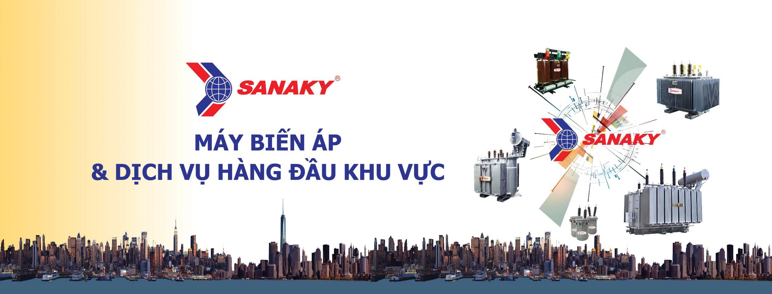 Máy biến áp Sanaky